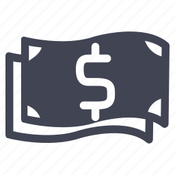 bills, cash, currency, dollar, finance, money, payment icon