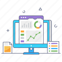 online analytics, business analytics, stock exchange, data representation, stock market