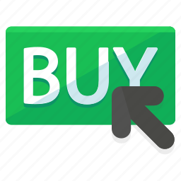 buy, finance, financial, online, pointer, shopping icon