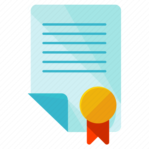 contract, document, paper icon