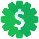 dollar, finance, financial, price, shopping, sticker icon