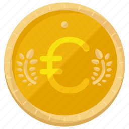 coin, currency, euro, money, payment icon
