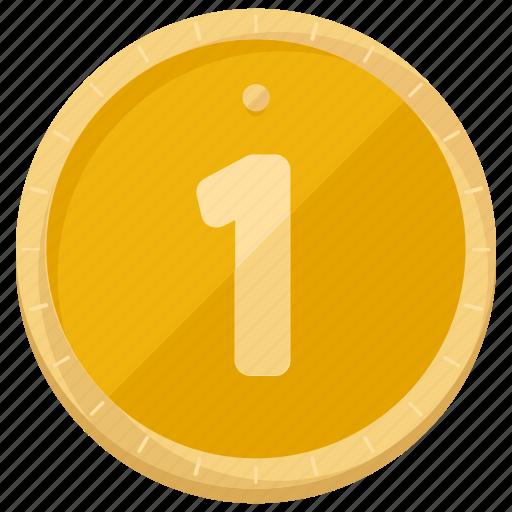 coin, finance, money icon