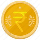 coin, currency, finance, financial, money, rupee icon