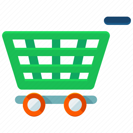 cart, purchases, shopping icon