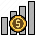bar chart, profit, benefit, business chart, annual report