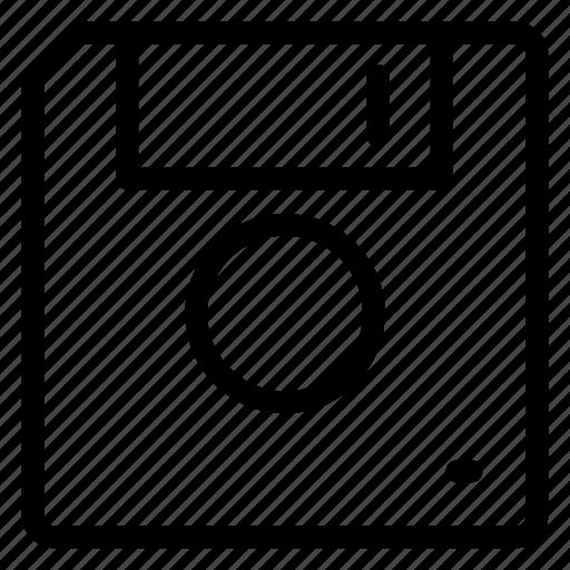 Disk, floppy, save, storage icon, guardar icon - Download on Iconfinder