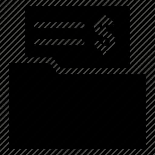 business, files, finance, folder icon icon