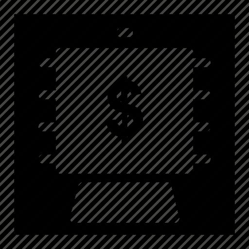 atm, atm hardware, atm machine, device, hardware icon icon
