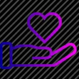 favorite, finance, heart, like, love, money icon