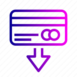 card, creadit, currency, debit, money, payment, withdraw icon