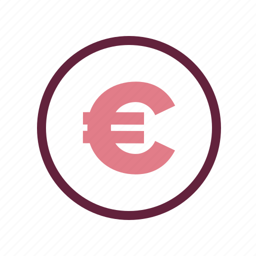 accounting, business, commercial, economics, euro, finance, money icon