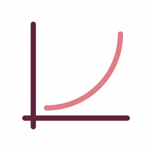 accounting, business, commercial, curve, economics, finance, money icon