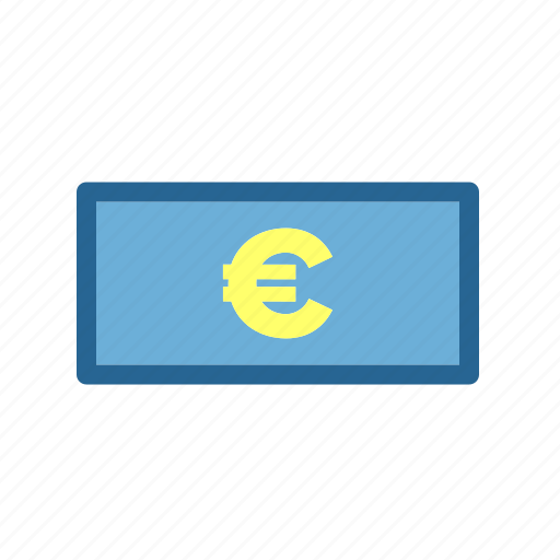Finance, business, money, economics, currency, accounting, euro icon