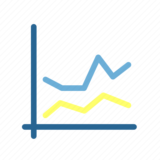 accounting, business, commercial, economics, finance, graph, money icon
