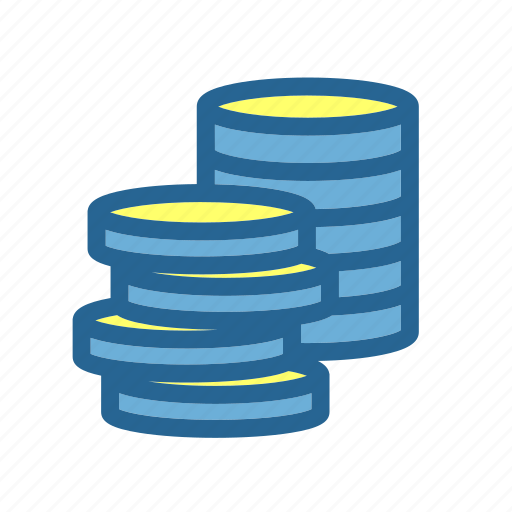 accounting, business, coins, commercial, economics, finance, money icon