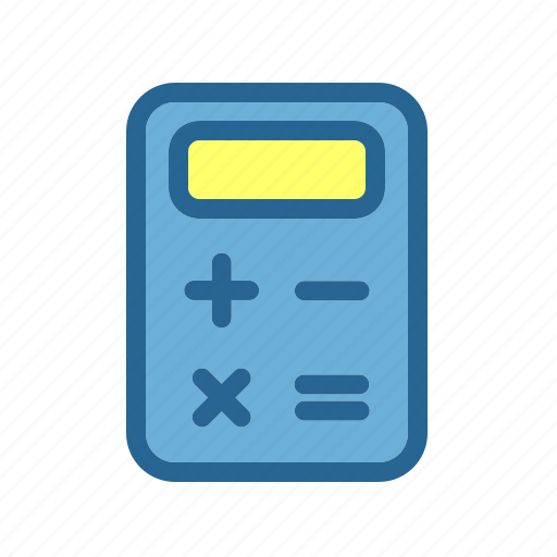 accounting, business, calculator, commercial, economics, finance, money icon