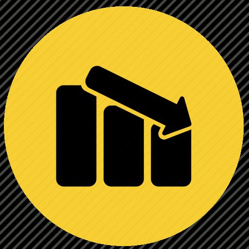 bar, chart, diagram, finance, graph, report icon