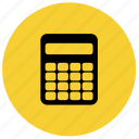 accounting, calculation, calculator, finance, financial, math icon