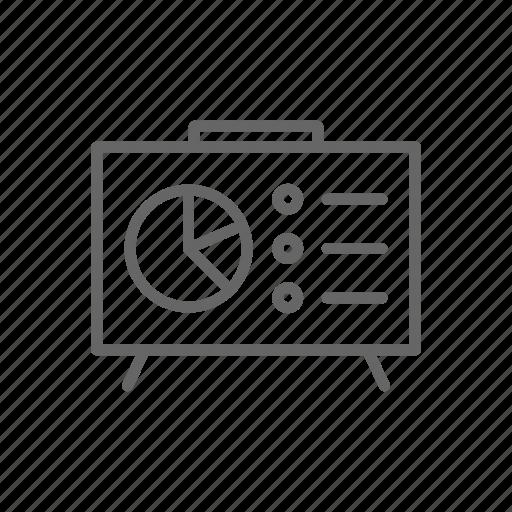 board, dash, diagram, finance, line, money, schedule icon