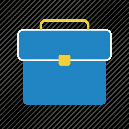 briefcase, case, finance, money icon