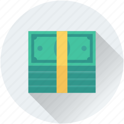 banknotes, currency, finance, money, paper money icon