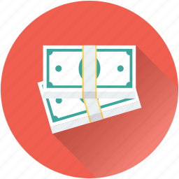 banknote, currency, finance, money, paper money icon