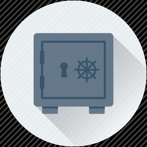 bank locker, bank safe, bank vault, locker, safe box icon