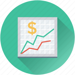 analytics, business graph, business report, sales graph, statistics icon