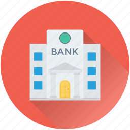 bank, building, business, finance, real estate icon