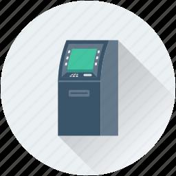 atm, atm machine, automated teller machine, cash line, cash machine icon