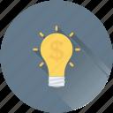 bulb, business idea, business innovation, creativity, invention
