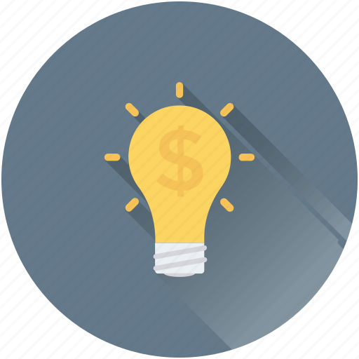 bulb, business idea, business innovation, creativity, invention icon