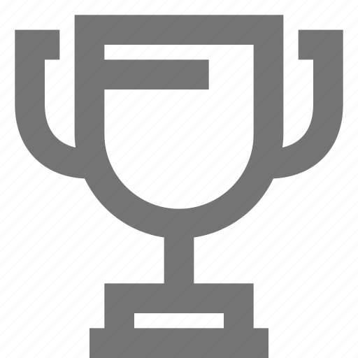 award, business, cup, material, success icon