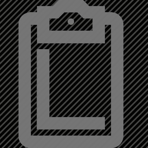 business, checklist, clipboard, management, material, procedure icon