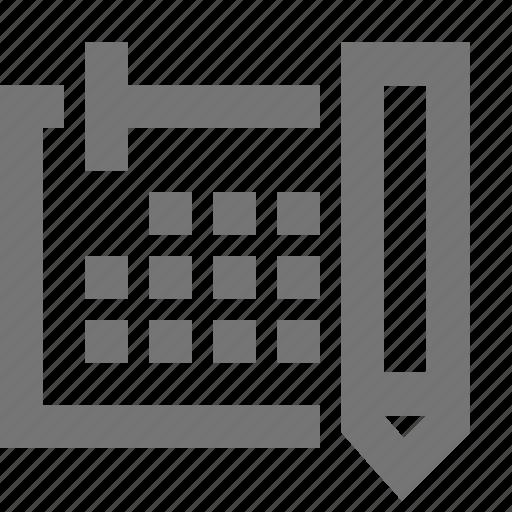 calendar, event, material, organizer, planner, planning, schedule icon