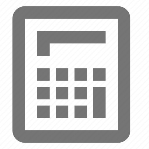 banking, business, calculate, calculator, finance, material icon