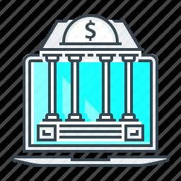 bank, banking, internet, internet banking, online, online bank icon