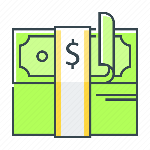 cash, currency, dollar, money icon