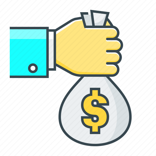 finance, investment, loan, money, sponsor icon