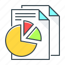 analytics, diagram, finance, report, statistics icon