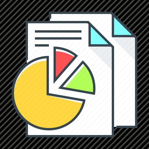 analytics, diagram, finance, report, statistics icon