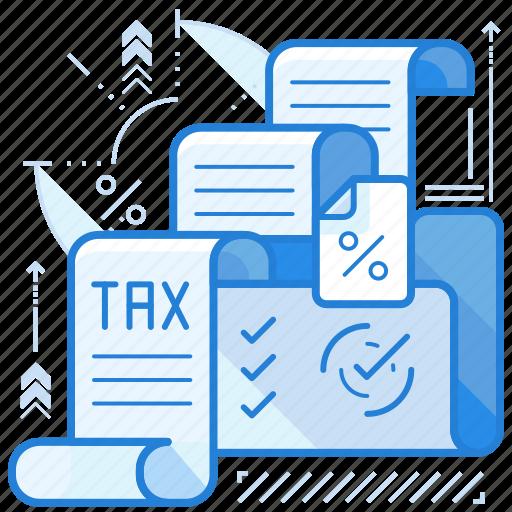 management, tax, vat icon