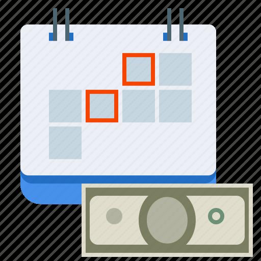 cash, installment, money, payment icon