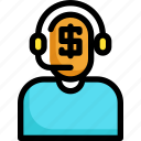 currency, finance, financial, investment, investor, money icon