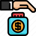 finance, financial, insurance, investment, money, payment, saving icon