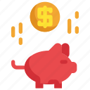 bank, finance, financial, investment, money, piggy, saving icon