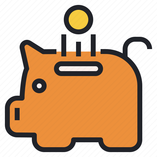 Bank, finance, investment, money, piggy, saving icon - Download on Iconfinder