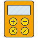 calculate, calculator, compute, electronic, finance, math icon