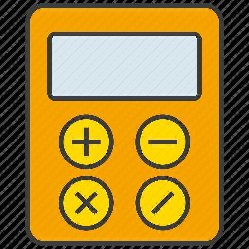 calculate, calculator, compute, electronic, finance, math icon